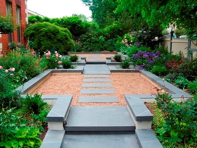 canterbury semi formal garden design