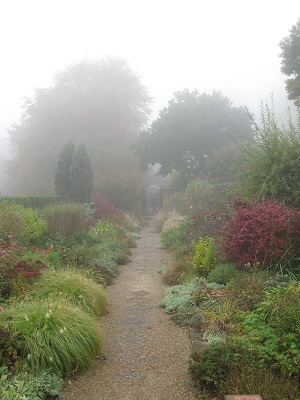 Cloudehill Gardens Mixed borders herbaceous plants
