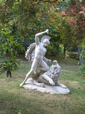 Forest Glade Gardens statue