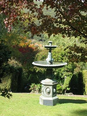 Forest Glade Gardens fountain